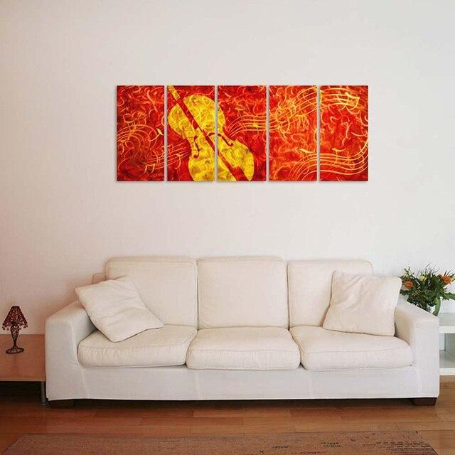 original handcraft modern artwork aluminum abstract metal wall art ...