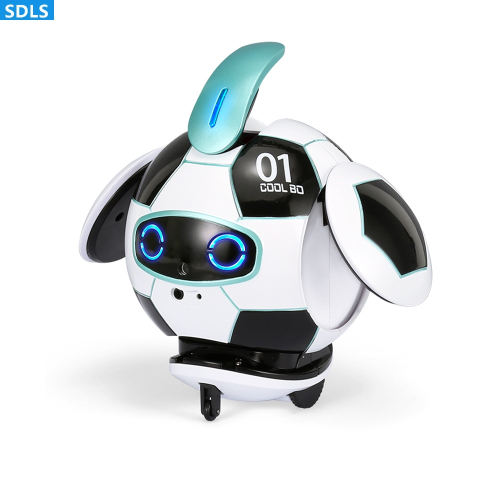 Educational Touch Control Robot Touch Deformation Infrared Avoid Recording Voice Change Interaction Music Toys Auto Presentation