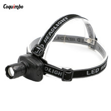 Portable Super Bright Mini 3 Mode LED Headlamp Zoomable Lamp Outdoor Led Head light Sports Camping Fishing Head Lamp Headlight(China)