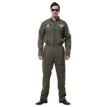 Adult Men Special Forces Air Force Costumes Uniform Pilot Airman Flight Hero Suit Halloween Party Carnival Masquerade Outfit