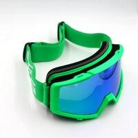 אדם החדש לנשים סקי משקפי מגן UV להגן אנטי ערפל משקפי סנובורד סקייט משקפיים למבוגרים Snowmobile חורף סקי שלג משקפי