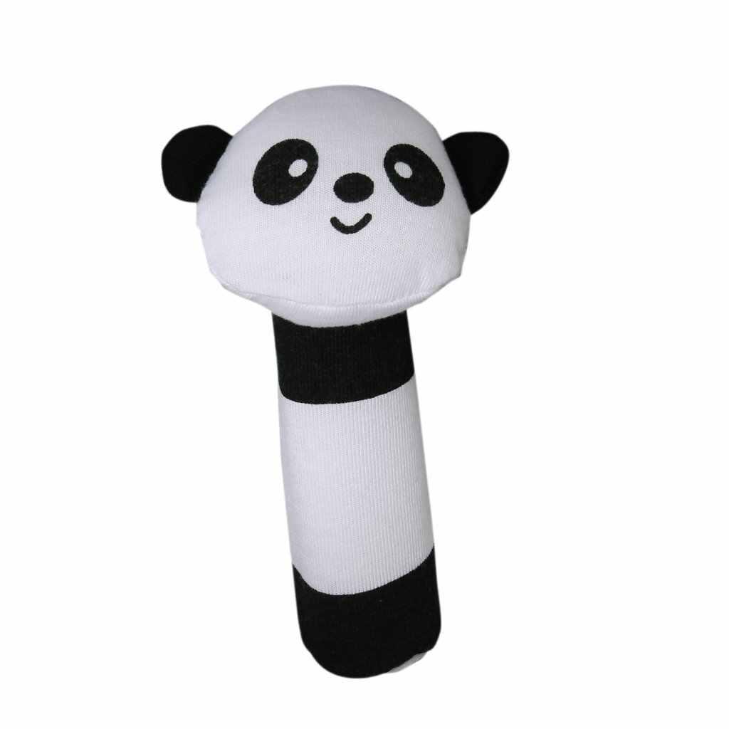 MACH форма панда Ткань пищалка звук бар детские игрушки