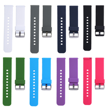 21cm Soft Silicone Watch Band Replacement Watch Strap for Cookoo2 Watch Pebble Time LG MOTO360 2rd