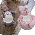 Nuevo 2015 Totoro Mameluco para Los Bebés Y Los Mamelucos Del Invierno Del Bebé Ropa de Los Muchachos Con Capucha Infantil Escalada Mono Ropa de Los Cabritos