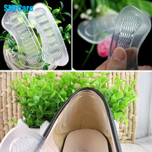 1Pair Rearfoot Invisible Silica Gel Anti-Slip High Heel  Cushions Gel Heel Back liner Shoes Silicone Insoles Massage Care Z05701