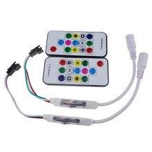 DC 5V/12V Led RGB Controller 300 kinds of changes Wireless RF Digital Color LED Strip led Light for WS2811 WS2812 WS2812B 1PCS