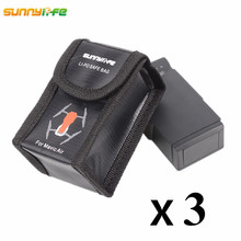 For DJI Mavic Air Fireproof Lipo Battery Bag Explosion proof Case Protective Storage Safe Box for Mavic Air Accessories