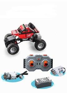Image 5 - Monsters Bigfoot Camion Technic SUV RC Modello di Auto Building Block di Sport 2.4G Radio Giocattoli di Controllo Per I Bambini