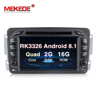 MEKEDE Car Multimedia player Android 8.1 Car Radio Player GPS For Mercedes/Benz/W209/W203/Viano/W639/Vito FM Radio WIFI BT