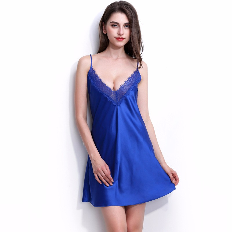 49aa442378 sexy women nightgowns free shipping suspenders women s nightdress ...
