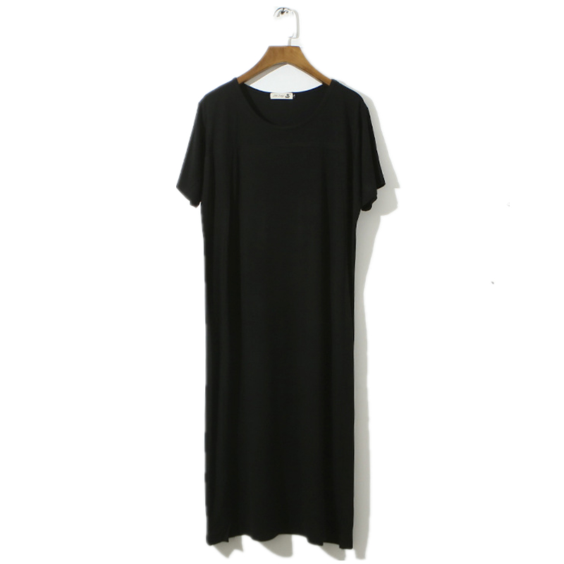 can as outerwear plus size loose   nightgowns   for women summer   sleepshirts   2017 new autumn female sleepwear teenage girl AB073