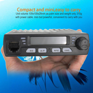 Image 3 - Car radio Station CB 40M 25.615  30.105MH 8W Citizen band CB Radio Mobile Transceiver amateur Compact AM/FM walkie talkie AC 001