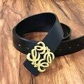 Cinturones de diseñador Hombres de Alta Calidad Hombres del Cuero Genuino de La Correa de La Marca Ceinture de la Hebilla Cinturones Hombre Correa Masculina Homme MBT0449