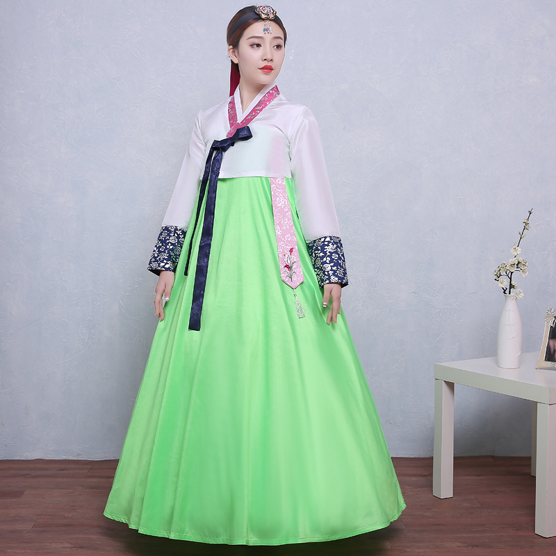6d85a50364 US $32.17 45% OFF New Design Woman Elegant Korean Traditional Costume  Korean Hanbok Dae Jang Geum Dance Costume Lady National Clothing-in Asia &  ...