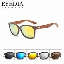 c38c68e67e Logotipo personalizado regalo moda Retro Unisex gafas de sol mujeres  imitación madera marco PC gafas de sol con madera Natural v.