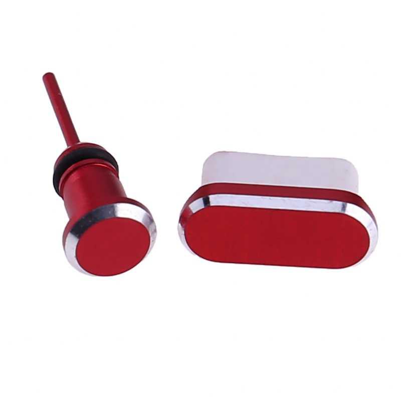Typu C port ładowania telefonu 3.5mm gniazdo słuchawkowe typ karty Sim C przeciwkurzowe wtyczka do samsunga S9 S8 A5 A7 2017 Huawei P9 P10