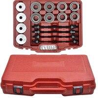 Y 28pcs Master Press Puller Sleeve Kit Bearings Bushes Seals Removal Tool High Quality car repair tool