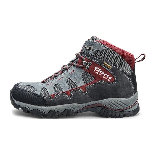 moins cher super qualité les ventes chaudes € 54.59 26% de réduction|Clorts chaussures de randonnée Trekking Camping  escalade chaussures de plein air imperméable en daim cuir hommes bottes de  ...