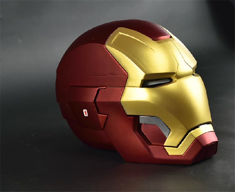 Back To Search Resultstoys & Hobbies Avengers Infinity War Superhero Iron Man Wearable Helmet 1:1 With Led Light With Sound Action Figure Collectible Model Toy J339