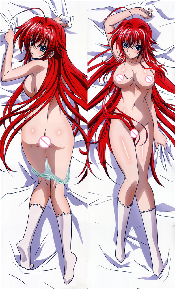 High School DxD Rias Gremory Japanese Sexy Female Anime Dakimakura Covers Life-sized Hugging Body Pillow Cover Case Customized