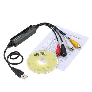 Image 5 - USB видео аудио захват Захват рекордер Адаптер карты для MAC OS 10,4 10,12 видеокамера VHS лента VCR DVD TV Box