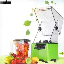 Xeoleo пищевой блендер коммерческий блендер 1000 мл звукоизоляция кухонный комбайн Smoothie Maker Mute Juicing machine food mixer