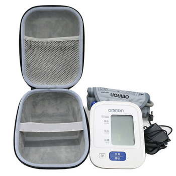 New EVA Cover Case for Omron 10 Series Wireless Upper Arm Blood Pressure Monitor (BP786 / BP785N / BP791IT) Travel Storage Cases 1