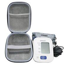 חדש EVA כיסוי מקרה עבור Omron 10 סדרת אלחוטי עליון זרוע לחץ דם צג (BP786/BP785N/BP791IT) נסיעות אחסון מקרי
