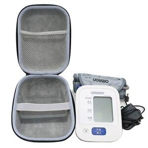 Image 1 - Nieuwe EVA Cover Case voor Omron 10 Serie Draadloze Bovenarm Bloeddrukmeter (BP786/BP785N/BP791IT) reizen Opslag Gevallen