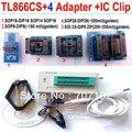 Русский английский руководство TL866cs + SOP8 / SOP28 / TSSOP8 / SOP16 4 адаптеры + IC клип TL866 PLCC AVR PIC биос программер