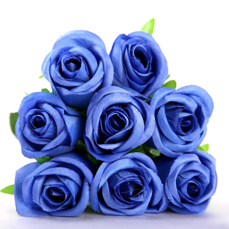 bleu hortensia bouquet-achetez des lots à petit prix bleu