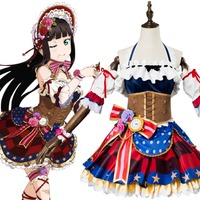 Love Live Sunshine Cosplay Costume Dia Kurosawa Valentine S Day Dress Cosplay Costume Halloween Carnival Costume