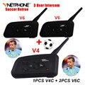 Nuevo Sistema de Fútbol Refree Refree Fútbol Profesional Bluetooth Intercomunicador Vnetphone Comunicación BT Interphone Headset Auriculares