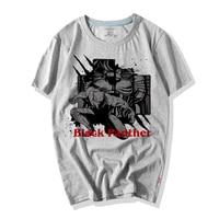 WBDDT Black Panther Comics T-shirt Men Hot Movie Popular Character 3D Print Cotton Top Tees Suit Homme Drop Shipping