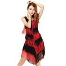 Shining Women Slim Fit Tiered Swinging Fringe tassel Dress Vestido Sexy  Flapper Girl Sleeveless Gatsby Party Dress 97ed5ce30041