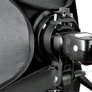 Image 5 - Godox سوفت بوكس 60x60 سنتيمتر الناشر عاكس ل Speedlite ضوء فلاش المهنية صور استوديو كاميرا فلاش صالح باوينز Elinchrom