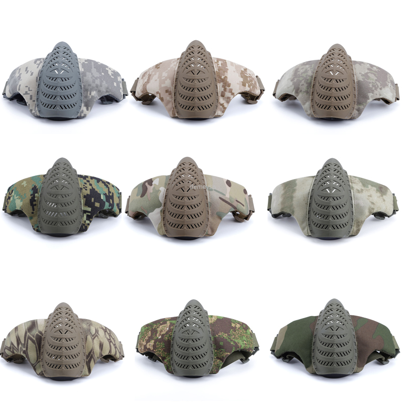 Tactical Paintball Mask Half Face Army Military Airsoft Portective Masks Airsoft Sports CS Wargame Shooting Hunting Mask