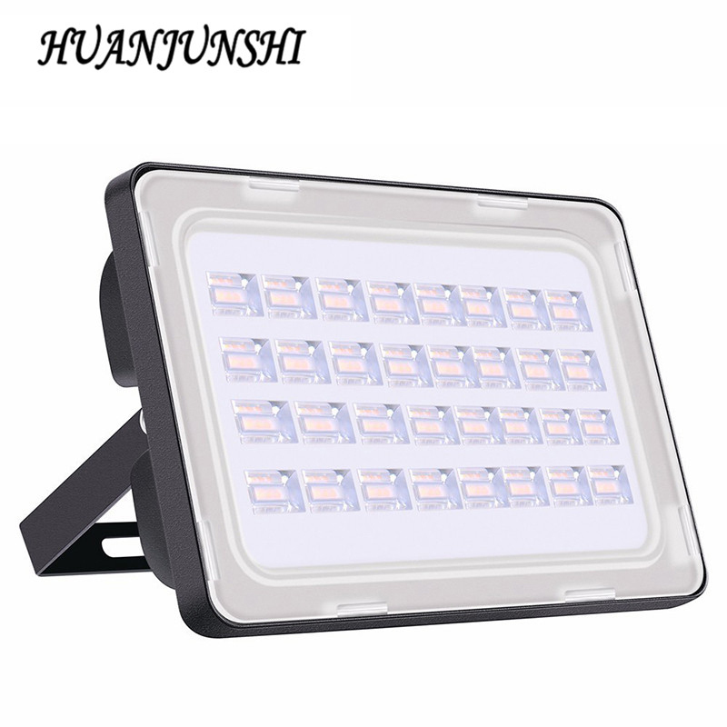 2st 100Watt Led Flood Light Vattentät Led Floodlight 100W 9000LM Outdoor Lighting 200-240V Led Reflector Outdoor Spotlight