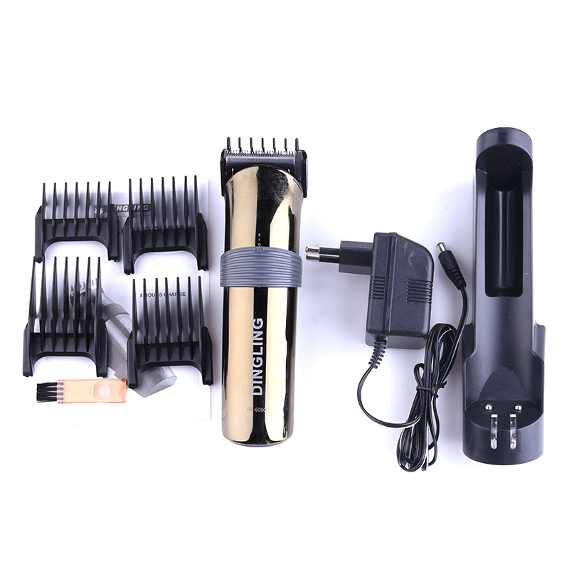 Dearlin Dingling RF-609C New Rechargeable Hair Trimmer Professional Hair Clipper Beard Trimmer Clips Men Shaving Machine Cutting 1