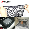 Car Styling 100 x 70cm Universal Fit Car Trunk Luggage Storage Cargo Organizer Useful Nylon Elastic Mesh Net With 4 Plastic Hook