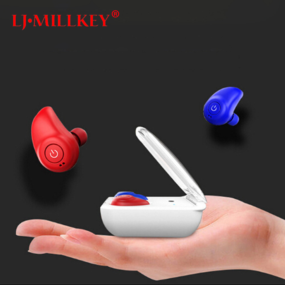 TWS earbuds handsfree earpiece noise canceling headset stereo wireless mini bluetooth earphone phone with mic LJ-MILLKEY YZ145 new csr8635 blutooth hands free casque bests bluetooth 4 1 wireless earpiece skype noise canceling bluetooth headset with mic