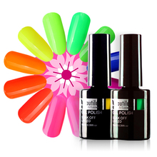 Beautilux 1pc Summer Collection Neon Yellow Red Pink Gel Nail Polish UV LED Gel Varnish Nails Art Lacquer Enamel 10ml цена