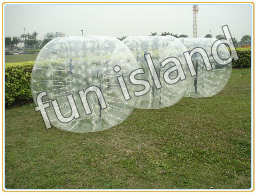 clear human inflatable bumper bubble ball, best TPU inflatable ball cheapest crazy best material tpu inflatable body bumper ball bubble soccer ball bubble ball for football