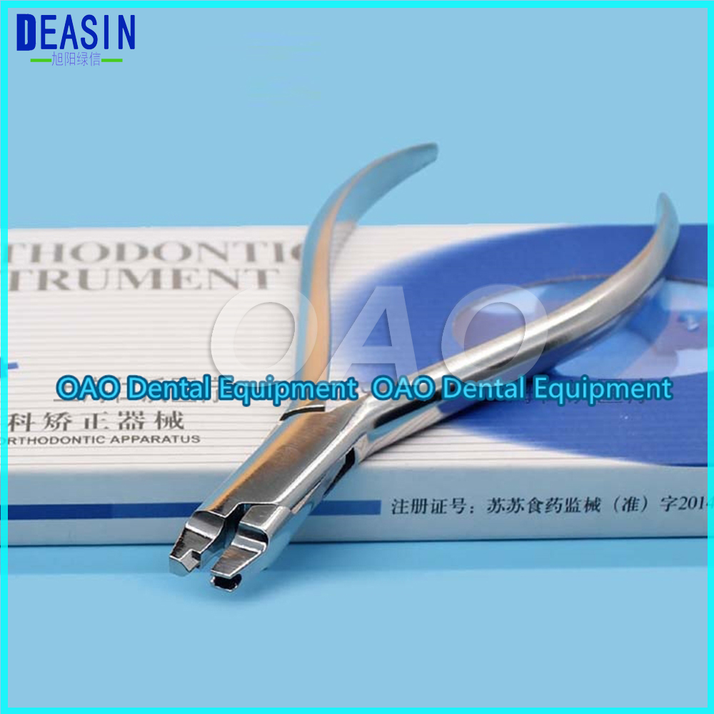 Dental Orthodontic Pliers Dental Material Stainless Steel Free Hook Clamp Pliers Dentistry Material Dentist Tools 1 piece transparent dental tooth orthodontic model malocclusion models teaching model dentistry material dentist tools