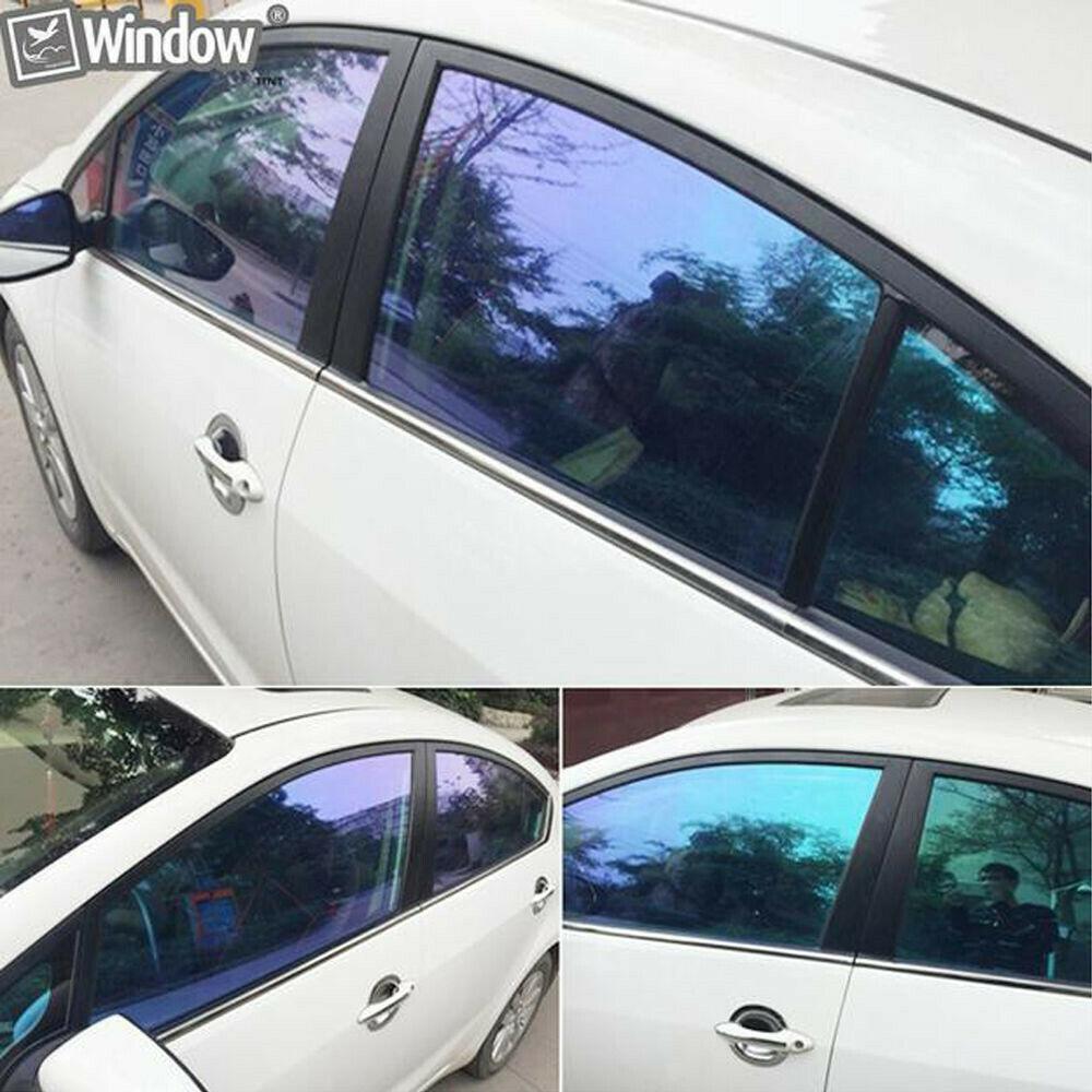 Car Stying VLT55% Chameleon Film Window Nano Ceramic UV Proof Tint Vinyl Solar Protection film Adhesive Sticker 1.52x20mCar Stying VLT55% Chameleon Film Window Nano Ceramic UV Proof Tint Vinyl Solar Protection film Adhesive Sticker 1.52x20m