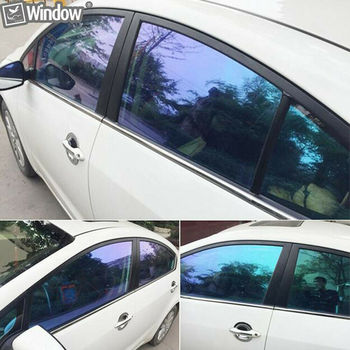 Car Stying VLT55% Chameleon Film Window Nano Ceramic UV Proof Tint Vinyl Solar Protection film Adhesive Sticker 1.52x20m