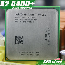 AMD Athlon 64 X2 5400+ CPU Processor (2.8Ghz/ 1M /1000GHz) Socket am2 (working 100% Free Shipping) 940 pin ,sell X2 5200+(China)