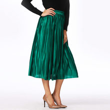 823cecc4c Promoción de Metallic Women Skirts - Compra Metallic Women Skirts ...