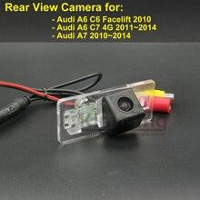 Автомобильная камера заднего вида для Audi A6 C6 подтяжки лица C7 4G A7 2010 2011 2012 2013 2014 Беспроводной проводной парковки заднего вида с оборотным бэкапом Камера HD