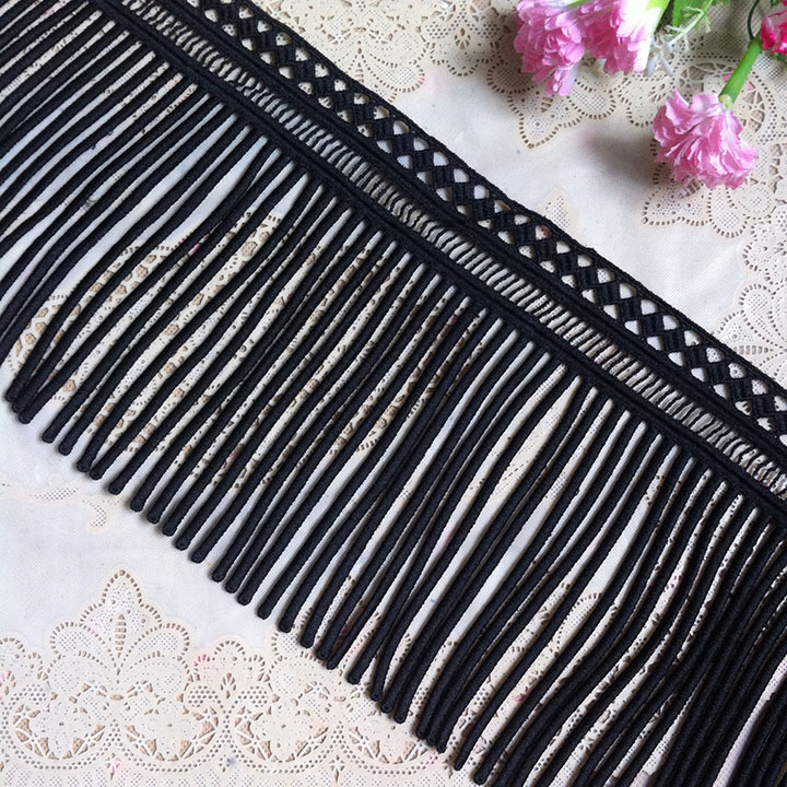 15 Yards/lot Water Soluble Lace Tassel Fringe For Curtains
